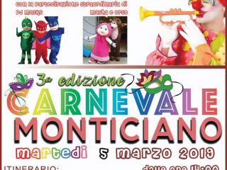 Carnevale Monticiano 2019: sfilata di carri a Monte San Giovanni Campagno (FR)