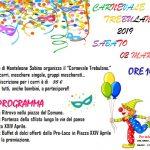 programma carnevale Monteleone Sabino 2019