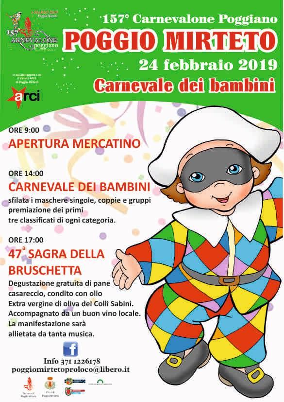 carnevale Poggio Mirteto 2019