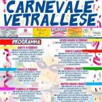 programma del Carnevale Vetralla 2019