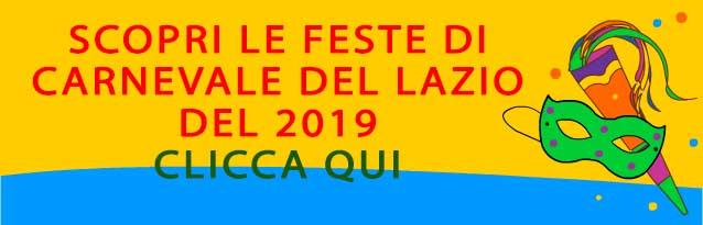 scopri dove si festeggia il carnevale 2019 nel Lazio