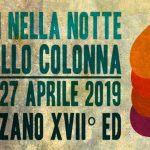 Fuochi nella notte al Castello Colonna di Genazzano 2019