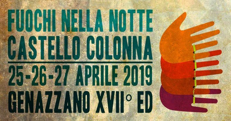Fuochi nella notte 2019 al Castello Colonna di Genazzano