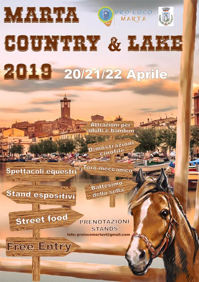 Marta Country & Lake 2019: la fiera country sul lago di Bolsena