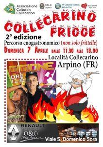 Collecarino Frigge 2019: sagra dei fritti nella frazione di Arpino