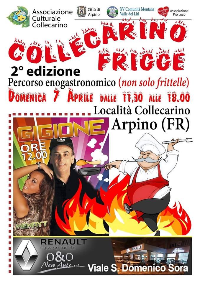 sagra dei fritti Collecarino di Arpino 2019