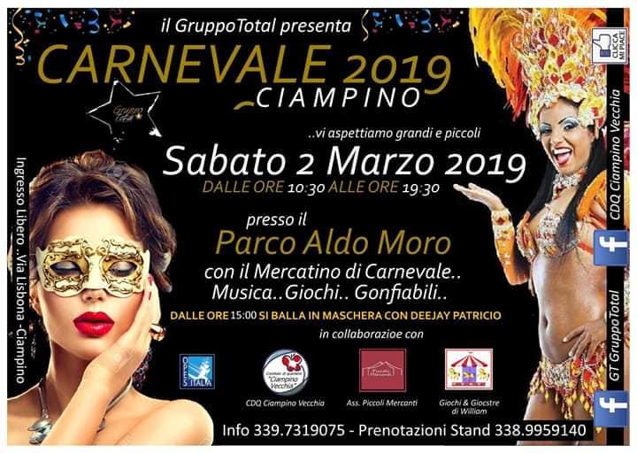 Carnevale Ciampino 2019