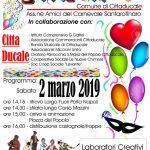 programma del carnevale di Cittaducale 2019
