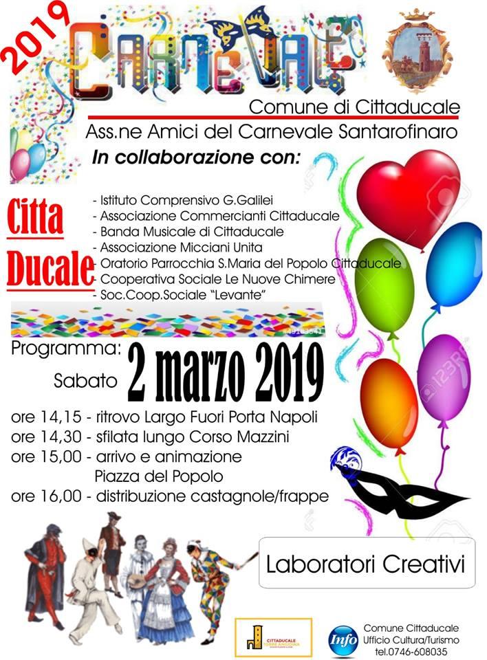 Carnevale Cittaducale 2019