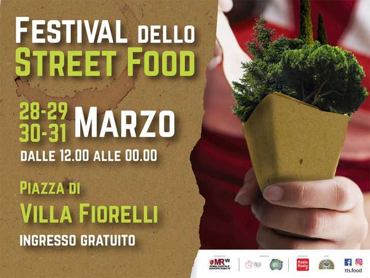 Festival dello street food a Villa Fiorelli Roma 2019