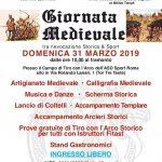 tiro con l'arco medievale Roma 2019