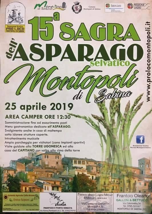 Sagra dell'asparago 2019 Montopoli (RI)