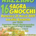 Sagra degli gnocchi Nazzano 2019
