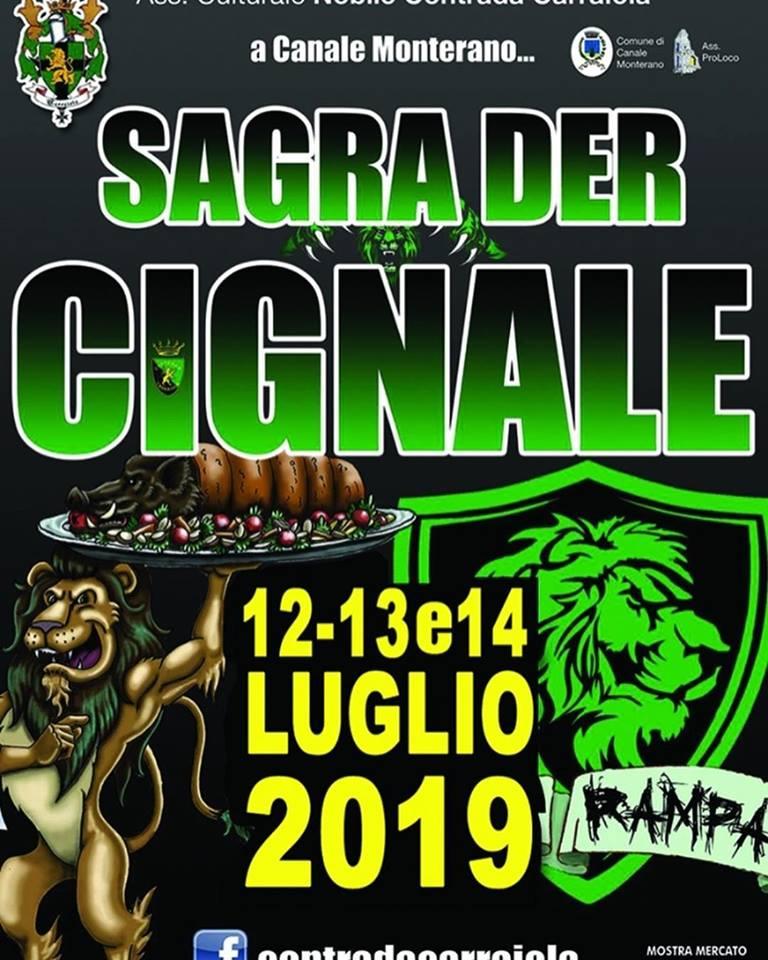 Sagra del cinghiale 2019 Canale Monterano (RM)