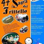 programma della sagra del frittello Roccantica 2019