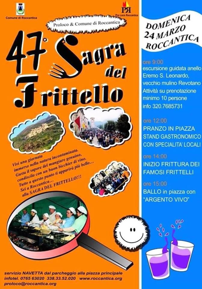 Sagra del frittello Roccantica 2019