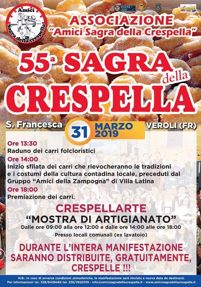 sagra delle crespelle 2019 Veroli