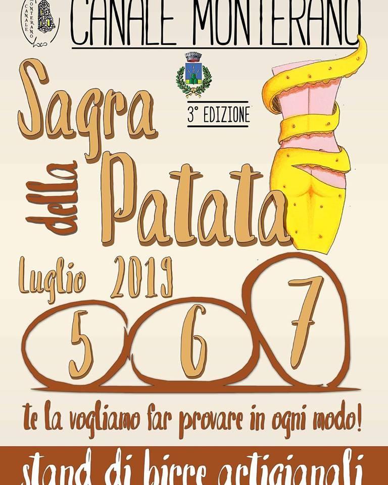 Sagra della patata Canale Monterano 2019