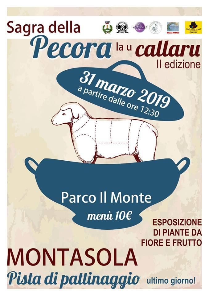 Sagra della pecora 2019 Montasola (RI)
