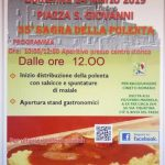 Sagra della Polenta Cineto Romano 2019