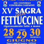 Sagra delle fettuccine Canale Monterano 2019