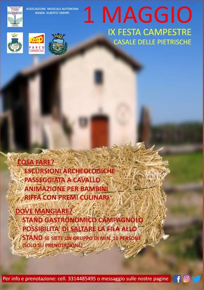 Primo Maggio 2019 al Casale delle Petrische a Manziana