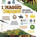 programma del Primo Maggio campagnolo Monte Romano 2019