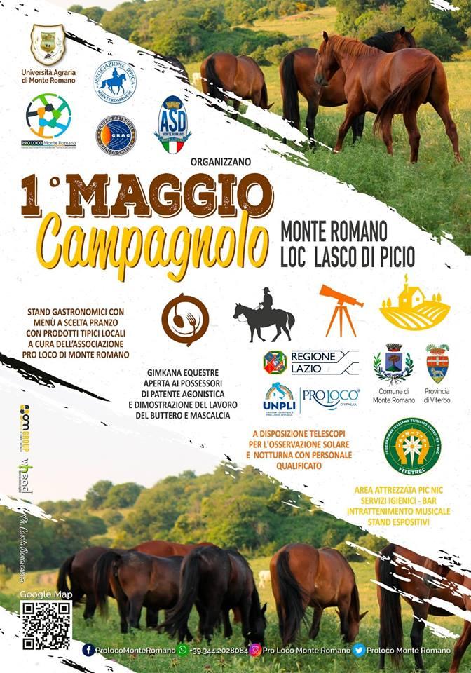 Primo Maggio campagnolo Monte Romano 2019