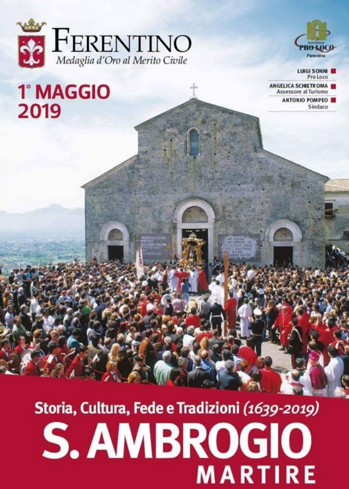 Primo Maggio a Ferentino: Sant'Ambrogio Martire 2019