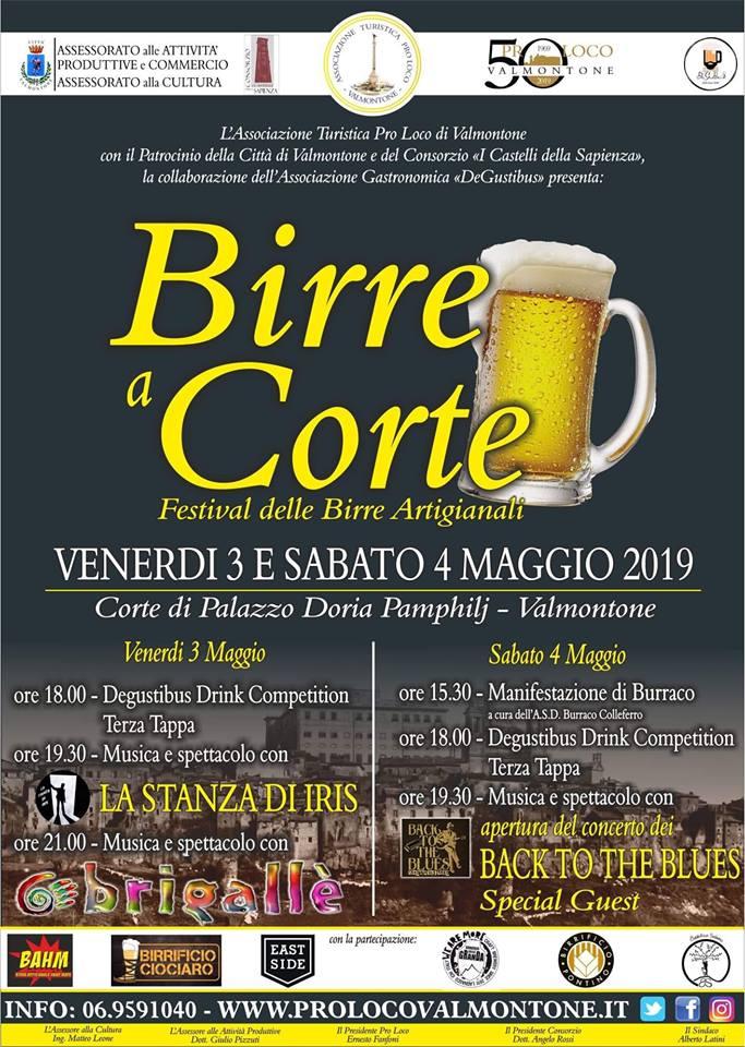 Festival della birra artigianale Valmontone 2019
