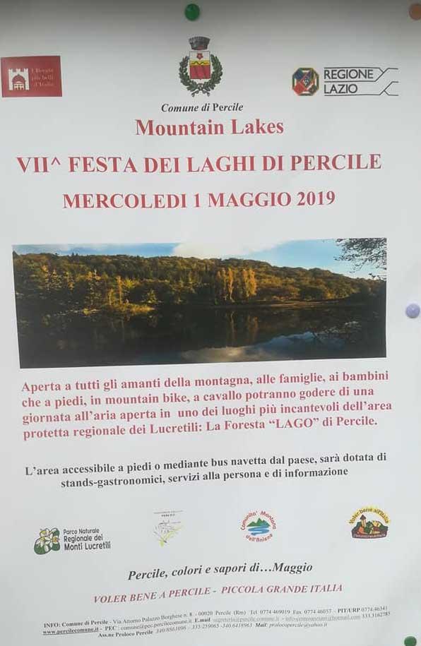Primo Maggio 2019 a Percile (RM)
