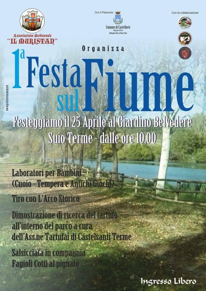 Festa sul fiume 2019 Castelforte (LT)