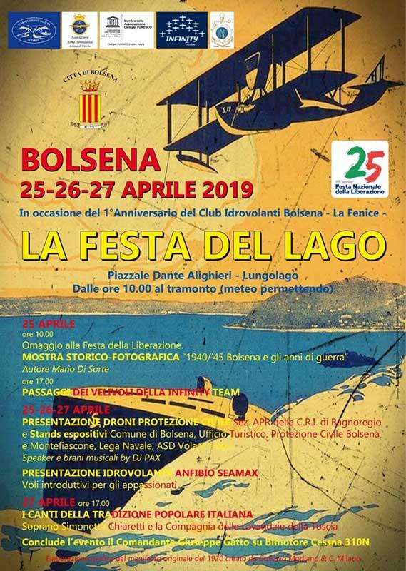 Festa del lago Bolsena 2019