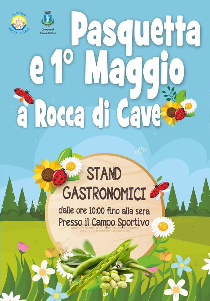 Primo Maggio a Rocca di Cave 2019
