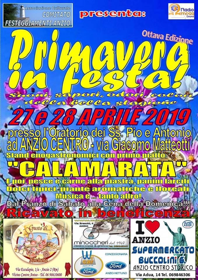 Festa di primavera Anzio 2019