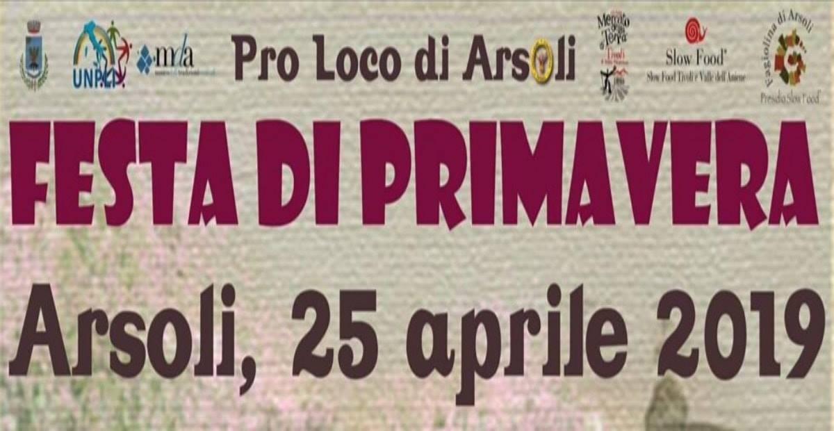 Sagra della pizza fritta Arsoli 2019