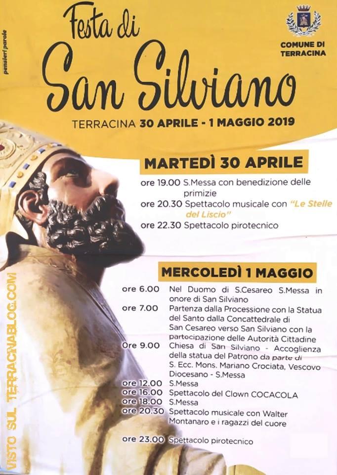 Festa di San Silviano Terracina 2019