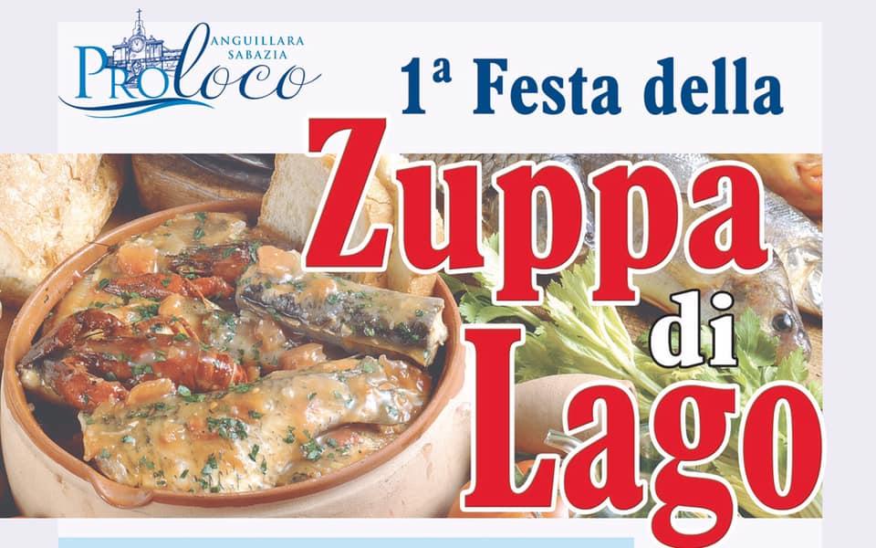 Festa della zuppa di lago Anguillara Sabazia 2019