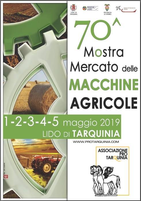 Fiera delle macchine agricole Tarquinia 2019