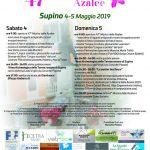 programma della fiera delle azalee Supino 2019