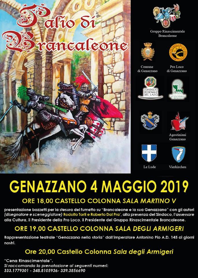 aspettando il Palio di Brancaleone 2019 Genazzano (RM)