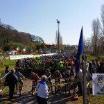partenza della Granfondo MTB Cicli Montanini