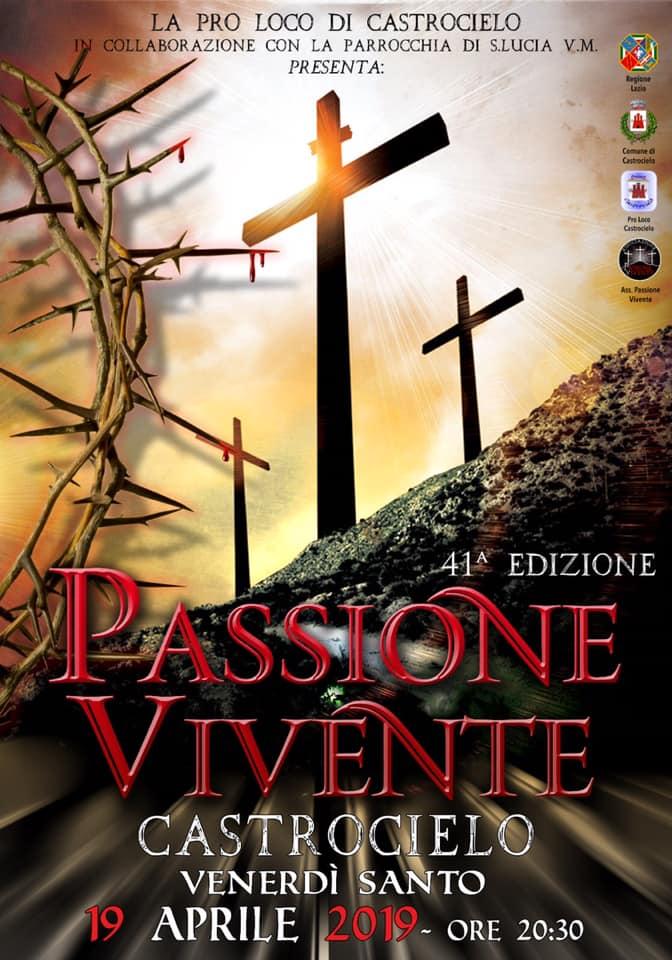 La Passione di Cristo 2019 a Castrocielo (FR)