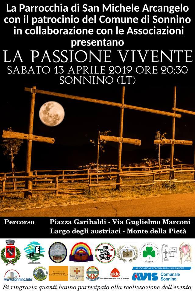 La Passione di Cristo 2019 Sonnino (LT)