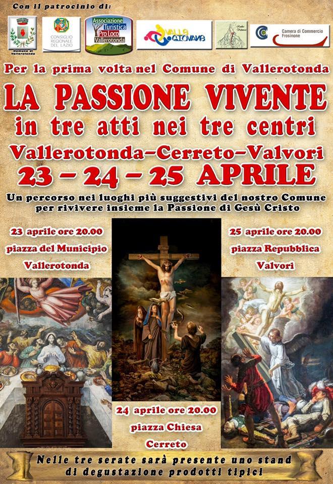 Passione di Cristo 2019 Vallerotonda (FR)