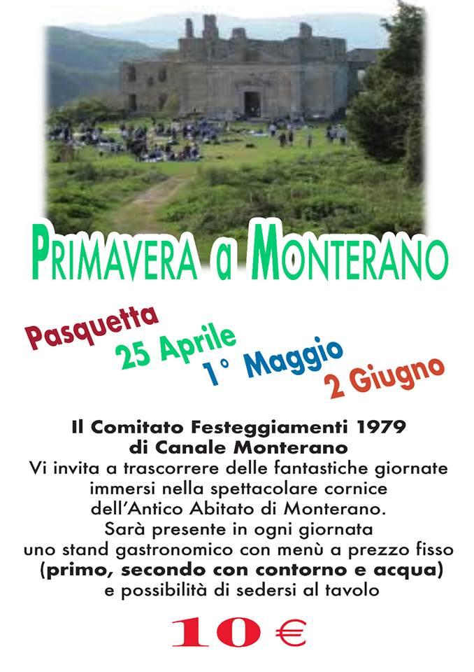 Primavera a Monterano 2019 Canale Monterano