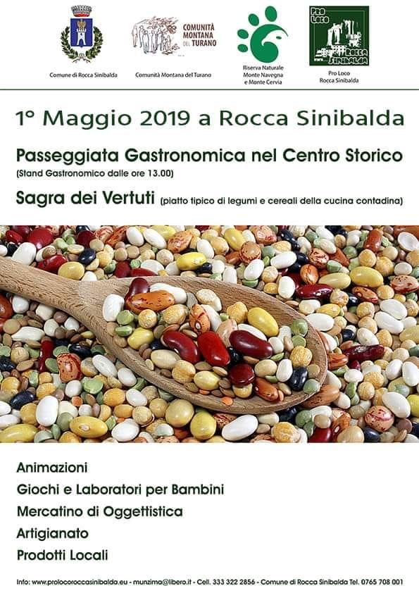Primo Maggio a Rocca Sinibalda 2019