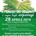 Sagra degli asparagi Subiaco 2019