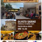 Sagra dei vertuti Torricella in Sabina 2019