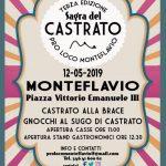 programma della sagra del castrato 2019 a Monteflavio